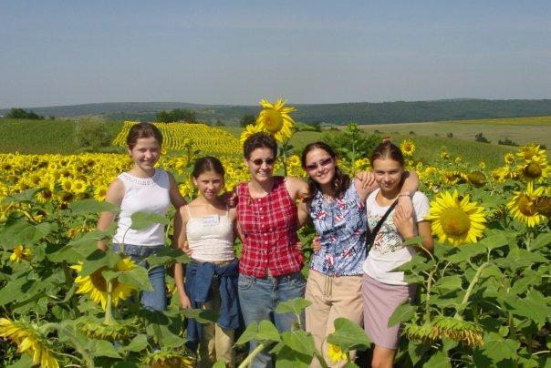 Sunflower fields Nisporeni Clare Says