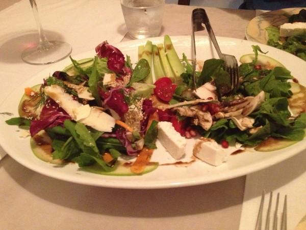 Salad.  Yum!